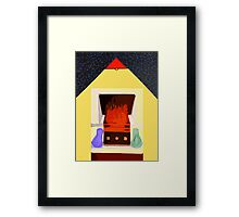 GLAD TO BE HOME Framed Print
