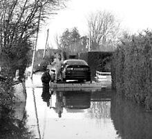 Floating Car Rescue Burrowbridge by RedSteve