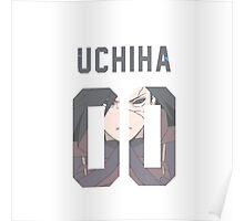 Uchiha Jersey #00 Poster
