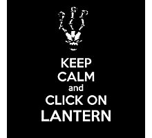 Thresh - League of Legends - Keep Calm and Click On Lantern - White Photographic Print