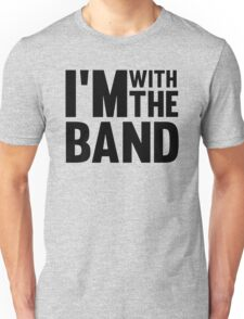 Cool Funny Music Concert Tshirts Typography Design Unisex T-Shirt
