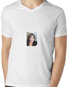 Self Portrait - au naturale Mens V-Neck T-Shirt