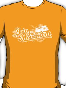 Join the movement - white T-Shirt