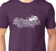 Join the movement - white Unisex T-Shirt