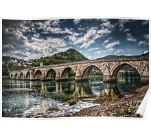 Bridge on Drina Poster