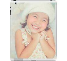 furry hat girl iPad Case/Skin