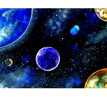 The Blue Planet Photographic Print