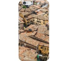 Tiled roofs of Malcesine iPhone Case/Skin