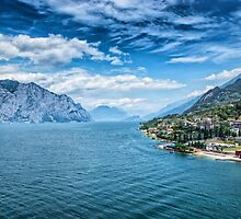 Lake Garda by Dobromir Dobrinov