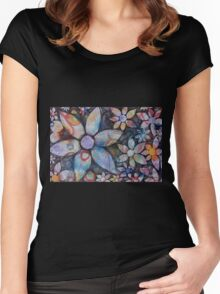 Energy Blossoms Women's Fitted Scoop T-Shirt