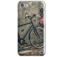 Vintage bicycle iPhone Case/Skin