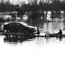 Floating Car Rescue Burrowbridge II by RedSteve