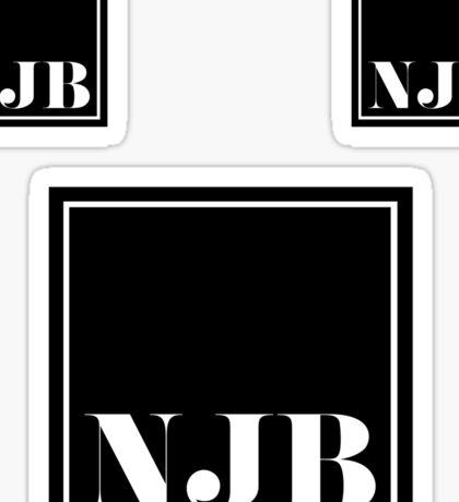 NJB NICE JEWISH BOY 3 stickers Sticker