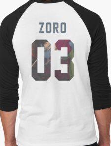 Zoro Jersey #03 Men's Baseball ¾ T-Shirt