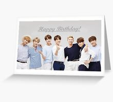 """Happy Birthday"" - BTS  Greeting Card"