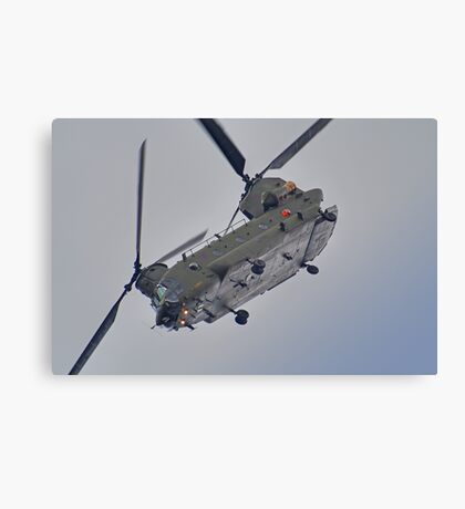 RAF Odiam Display Chinook - Dunsfold 2013 Canvas Print
