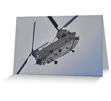 RAF Odiam Display Chinook - Dunsfold 2013 Greeting Card