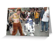 I love Comic Con! Greeting Card