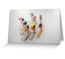 Cyclists 1 Greeting Card