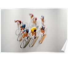Cyclists 1 Poster