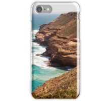 Red Cliffs and Sea iPhone Case/Skin