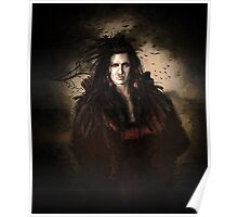Black Feather Crow Clan Poster