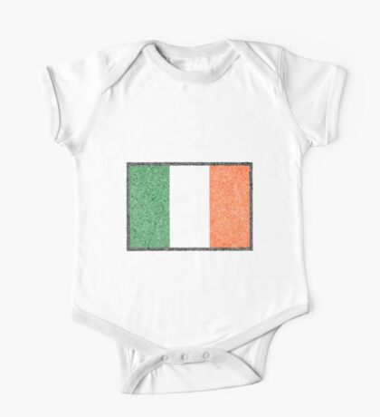 The Intricacies of the Irish Flag One Piece - Short Sleeve