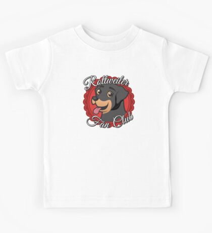 Rottweiler Fan Club Kids Tee