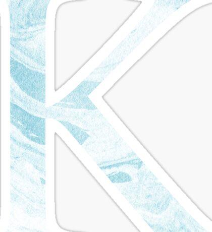 Kappa-blue marble Sticker