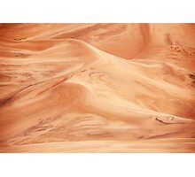 Sand Dunes Pattern Abstract Photographic Print