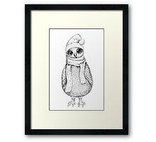 Christmas Owl Framed Print