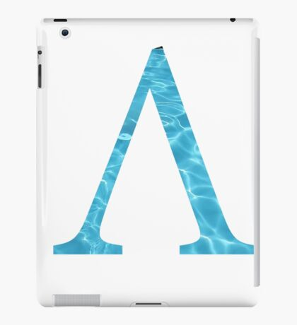 Lambda-water iPad Case/Skin