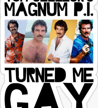 Magnum P.I. Sticker