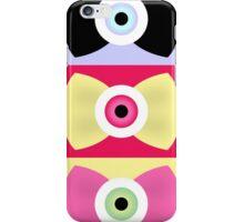 Creepy-Cute EyeBall Bows iPhone Case/Skin