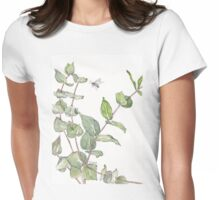 Gums and bees - Botanical Womens Fitted T-Shirt