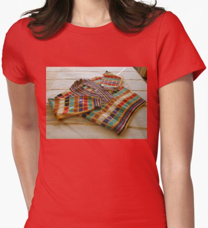 A Jazzy Jumper Womens Fitted T-Shirt