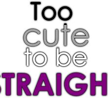 Too cute to be straight - asexual by Margotte