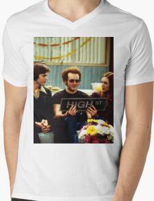 High Street Mens V-Neck T-Shirt