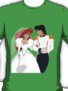 "The Little Mermaid - Ariel and Eric ""Just Married"" T-Shirt"