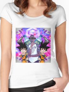 yung based bobby shmurda Women's Fitted Scoop T-Shirt