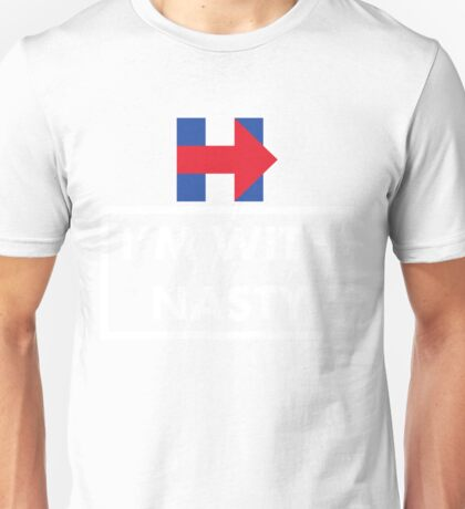 I'm with her Hillary Clinton President  Unisex T-Shirt