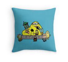 Banana The Hutt Throw Pillow