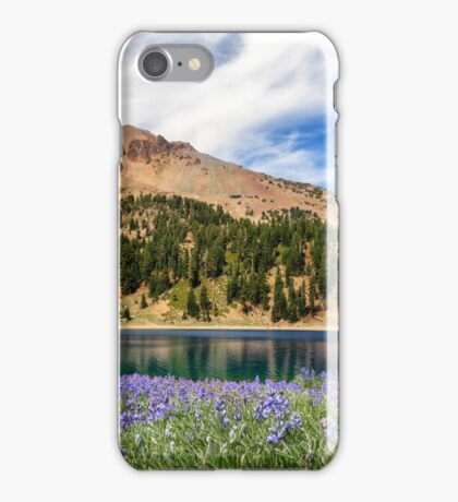Lupines Lake And Lassen iPhone Case/Skin