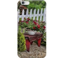 Of Gardens Past iPhone Case/Skin
