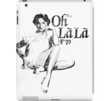 Oh La La? Oh La La? OH LA LA?! Back to the Future 2 iPad Case/Skin