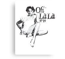 Oh La La? Oh La La? OH LA LA?! Back to the Future 2 Canvas Print