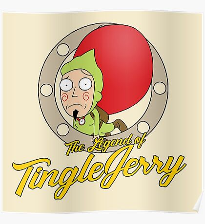 The Legend of TingleJerry Poster