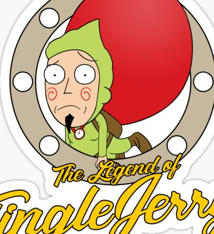 The Legend of TingleJerry Sticker