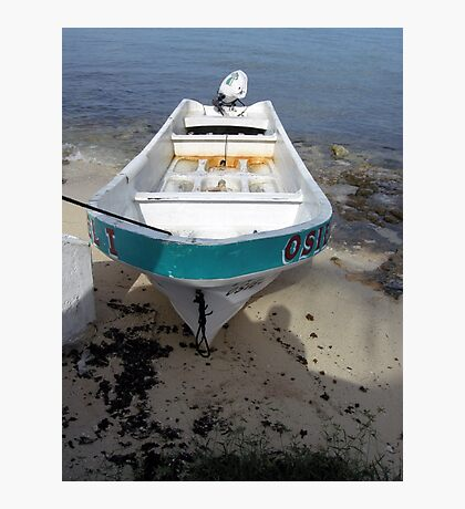 Beached in Cozumel  Photographic Print