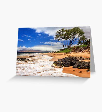 Keawakapu Beach - Mokapu Beach Greeting Card